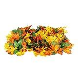 gaeruite Hundespielzeug Matte Schnüffelmatte, Pet Futtermatte Waschbar Pet Snuffle Decke Matte Jungle Leaf Spielzeug Matte für Hund und Katze