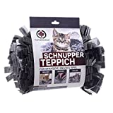 CanadianCat Company  | Filz Schnupperteppich - Schnüffelmatte für Katzen in Grau