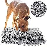 BVAGSS Haustier Interaktiv Spielzeug Riechen Trainierung Schnüffelteppich Spielen Matte Toy Nase Arbeit für Hunde Katzen XH051 (Grey)