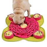 Schnüffelteppich Hund Snuffle Mat,Sniffing Mat Futtermatte Katzen Groß Schnüffeldecke Hund Schadstofffreies Hundespielzeug Schnupftabakmatte Fütterungsmatte für...