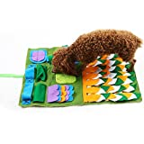 Alian Schnüffelteppich Hunde Hund Riechen Trainieren Schnüffeldecke fördert natürliche Nahrungssuche und artgerechte Auslastung, Intelligenz-Spielzeug für Hunde...