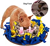FREESOO Schnüffelteppich Hunde, Schadstofffreies Intelligenz Hundespielzeug Schnüffelteppich Schnüffelrasen Schnüffelmatte Schnüffeldecke Hunde Futtermatte...