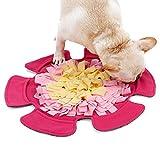 Schnüffelteppich Hund Snuffle Mat,Sniffing Mat Futtermatte Katzen Groß Schnüffeldecke Hund Schnüffelrasen Schadstofffreies Hundespielzeug Schnupftabakmatte...