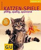 Katzen-Spiele, pfiffig, spaßig, spannend gelb 12 x 3,5 cm