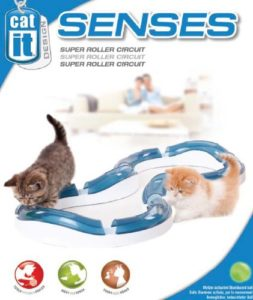 Senses Super Roller Circuit Tempo-Spielschiene von Catit Design
