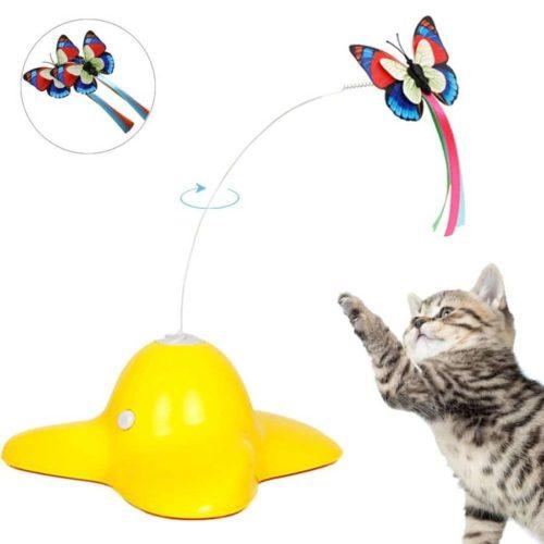 Elektrische drehender Schmetterling für Katzen