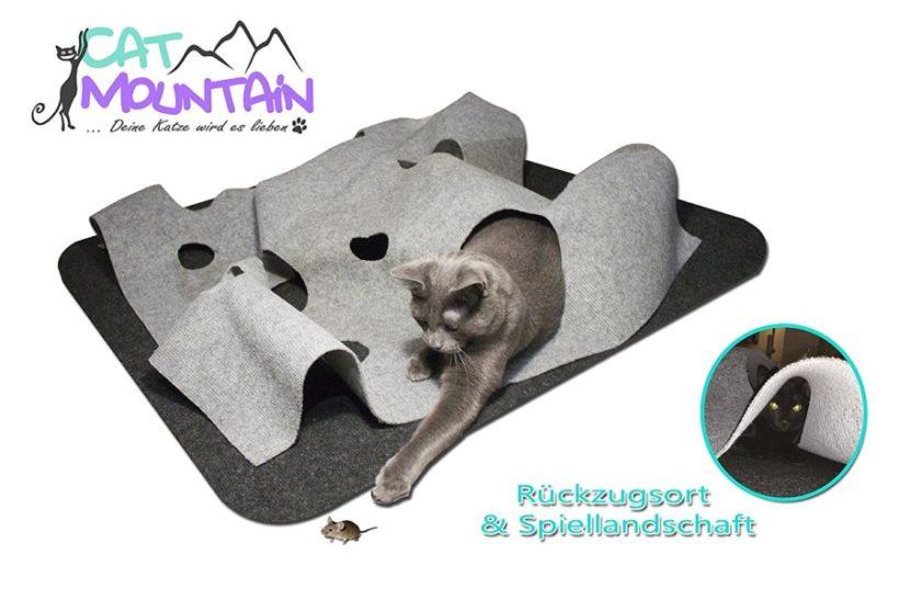 Kratzteppich, Kratzmatte für Katzen